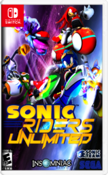 Sonic Riders Unlimited nintendo switch Cover