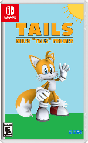 Miles Tails Prower Game Switch Boxart
