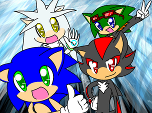 Sonic shadow silver and scourge