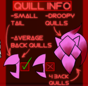 BACK QUILLS