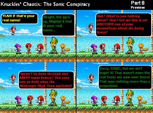 Knuckles' Chaotix: The Sprite Comic Series | Sonic Fanon