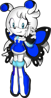Sonic channel ziggy the butterfly by kirakaete-d7d5kiz