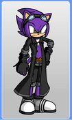Fusion the Hedgehog (Fdm form)
