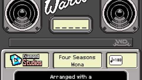 WarioWare DIY Mona's Records - Four Seasons