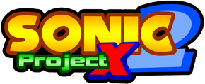 Sonic project x 2 logo