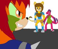 Cyrox meets Cyo and Nikita