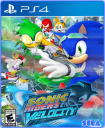 Sonic Riders Velocity PS4 Boxart