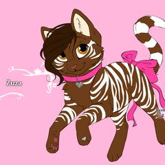 Zuza jako Kot