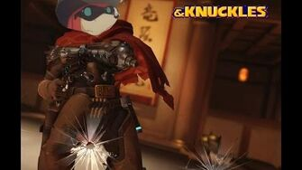 Knuckles the Echidna Plays Overwatch (As McCree)