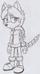 Lotte the Husky