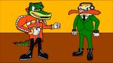 Detective Eggman VS Dr Vector
