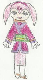 Kaguya drawing