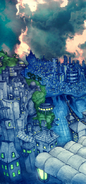 Cybernetic World Concept Art