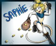 Saphie by LordPhantomChips
