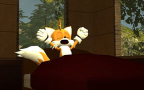 Tails waking up GMod by SPArtist98
