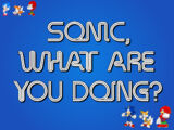 Sonic, What Are You Doing?