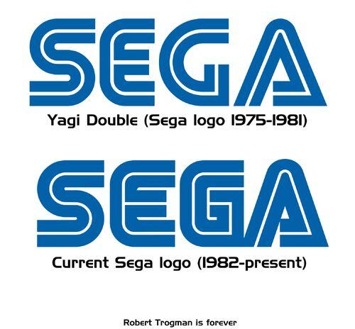 Sega logo comparison