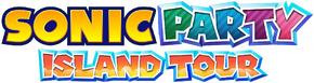 Sonic Party Island Tour Logo