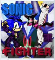 Sonic the Fighter cover