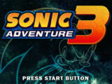 Sonic Adventure 3: If This Be Doomsday