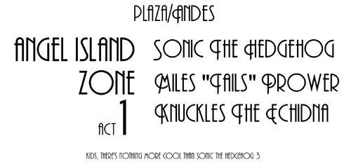 Sonic 3 Plaza