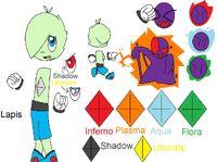 Elemental Crystal-Lapis Concept Art