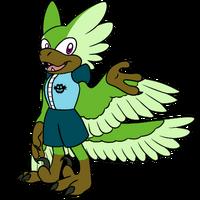 Razor the Raptor Uniform 2