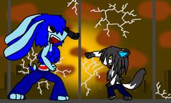 Hachi vs Soren