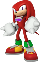 Sonic Free Riders Knuckles