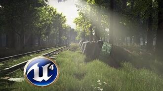 Speed Level Design - The Railroad - Unreal Engine 4