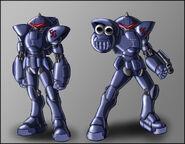 Sonic satam swatbot mk2 by zeiram0034