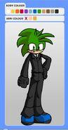 Tammuz the Hedgehog - Suit