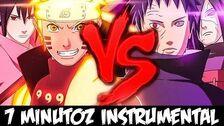 7minutoz - Naruto e Sasuke VS
