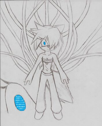 Kelsa the Wolf drawn