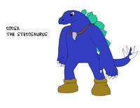 Gogsa the Stegosaurus