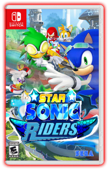 Star Sonic Riders Box Cover