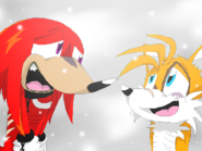Knuckles and tails