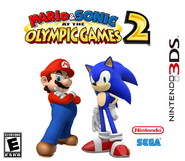Mario & Sonic at the Olympic Games 2 3DS Boxarts