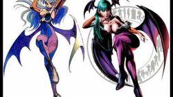 Marvel vs Capcom Mash-up Morrigan