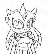 Celesta Sketch by HuatayFoxy