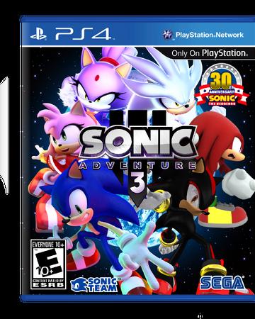 Sonic Adventure 3 Thehumansonikku Edition Sonic Fanon Wiki Fandom