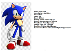 Sonic Controles Update