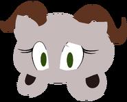 Reina the Dall Sheep (Logo) - by LoopyyLou