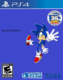 Sonic Evolution PS4 Cover