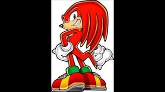 Sonic Party Wii U - Knuckles The Echidna Voice