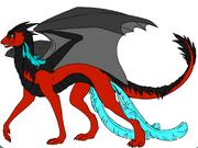 Vulx the Black mane dragon