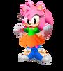 Classic amy rose render 3d by 9029561-d7jipea