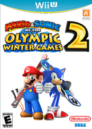 Mario & Sonic at the Olympic Winter Games 2 Wii U Boxart