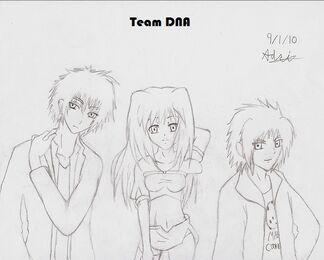 Team DNA Human no color nor details