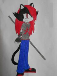 Crymson the Cat (colored)